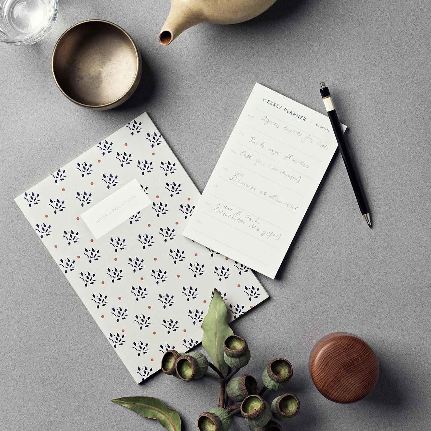 北欧の豊かな森の木から作られたノート/KATOTEK COPENHAGEN〈カトテックコペンハーゲン〉