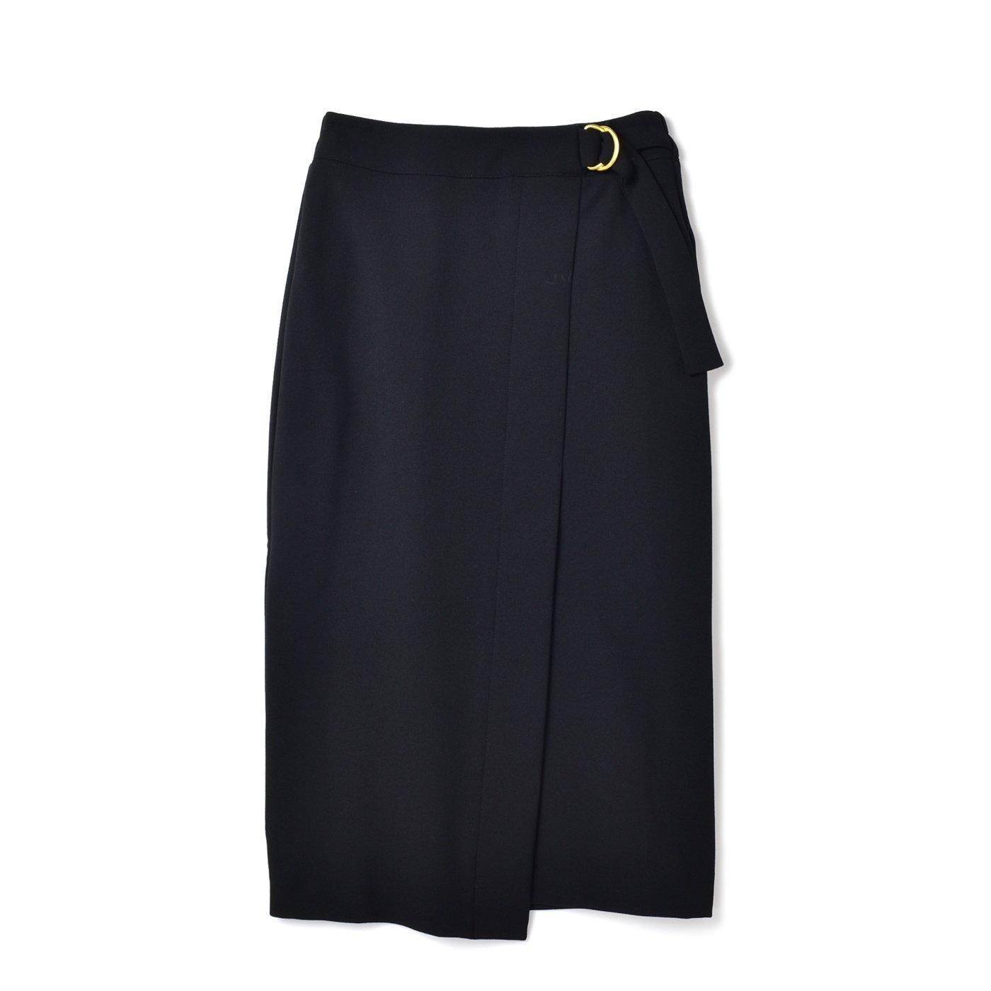 DRECO by IEDIT 上品ブラックスカート〈ブラック〉