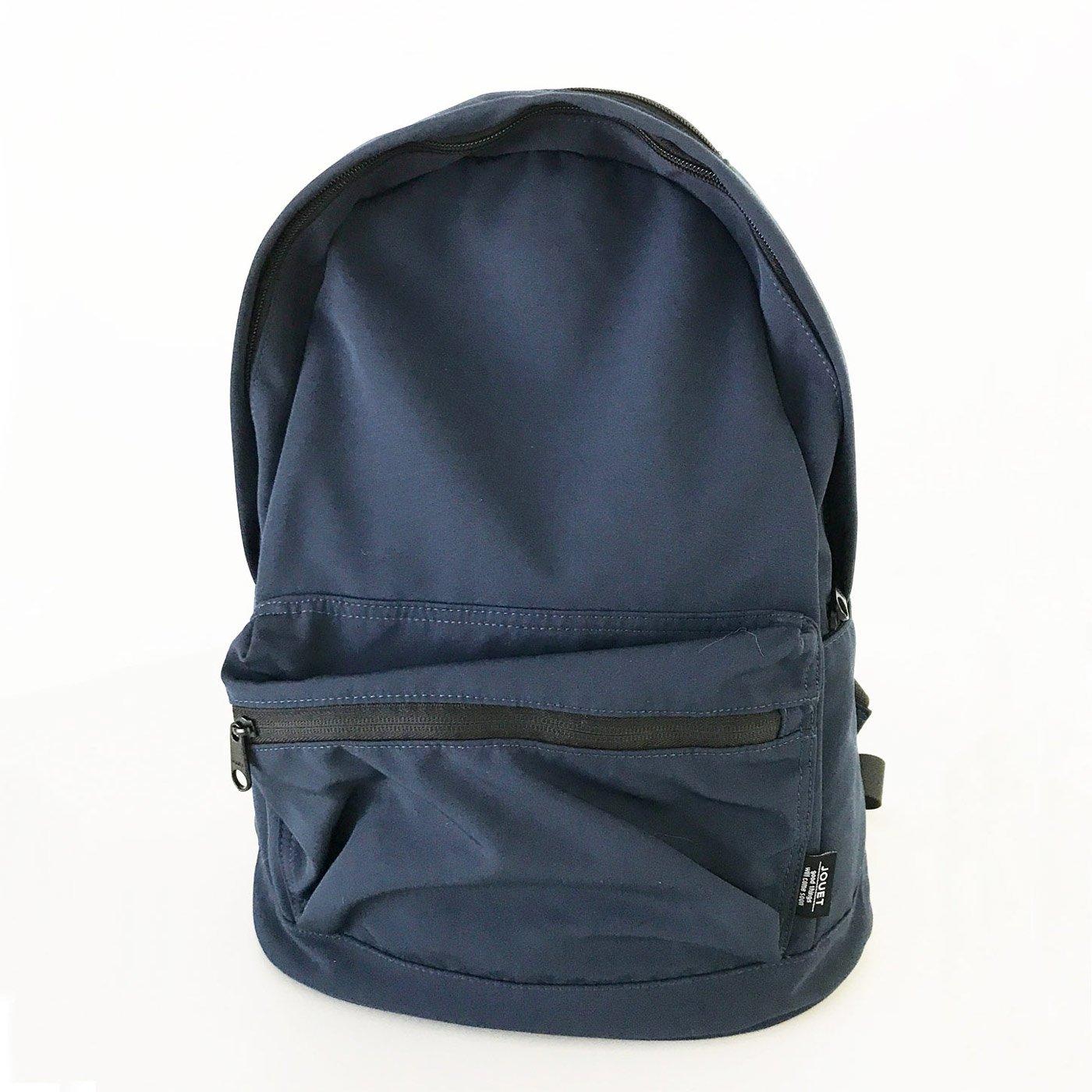IEDIT[イディット] SELECT 小物ポケットが便利なシンプルリュック J5267