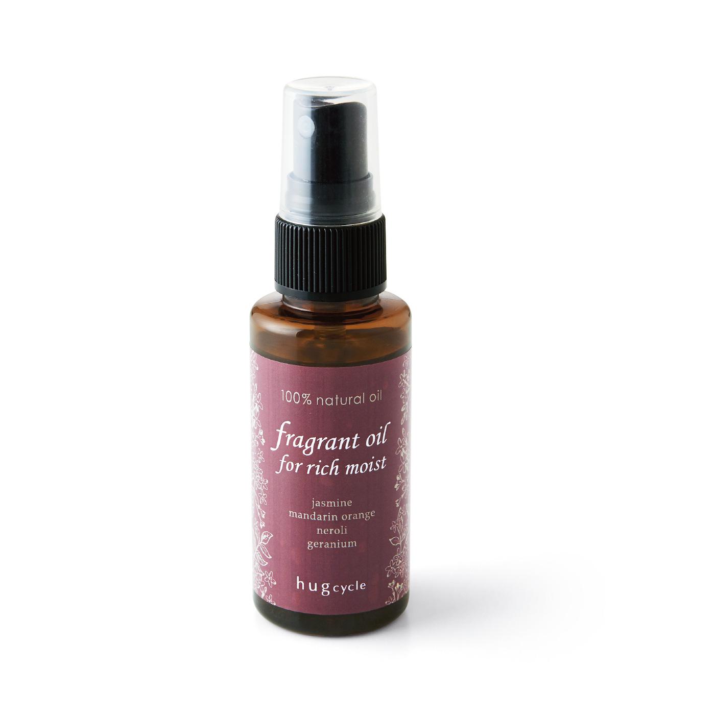 ジャスミンやゼラニウムが香る、大人リッチでフローラルな香り。