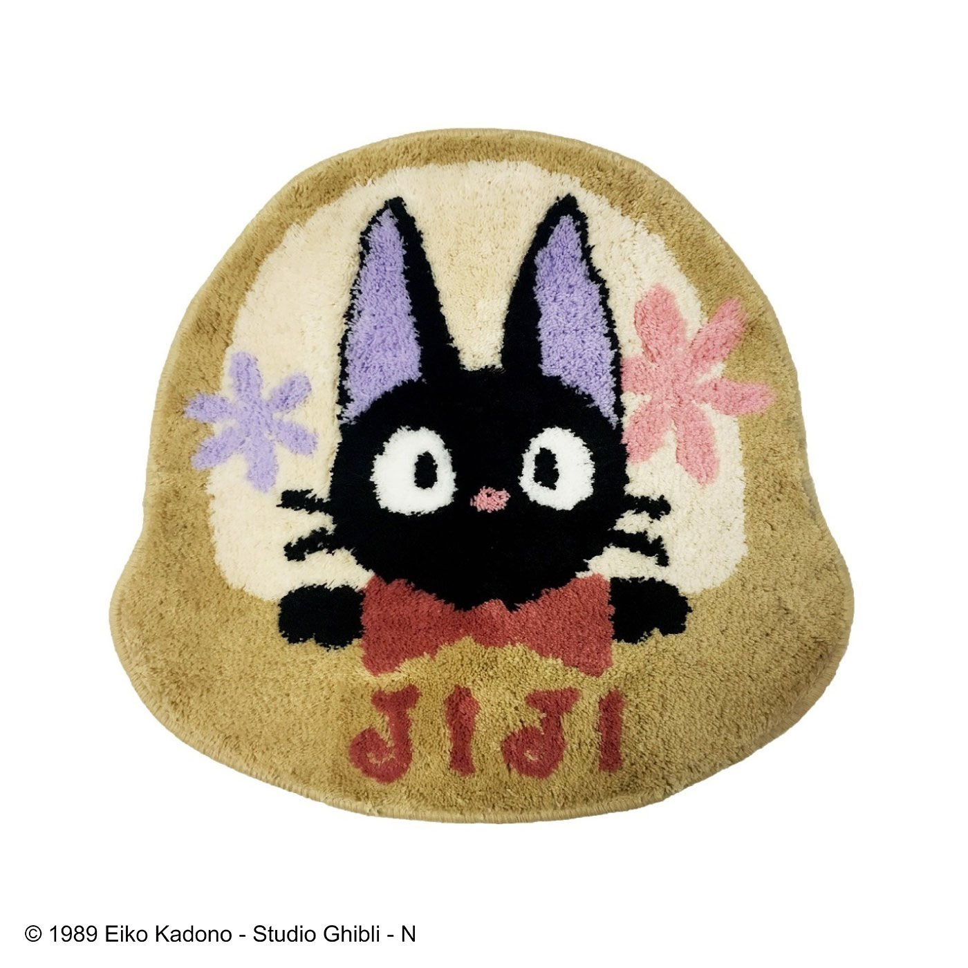 魔女の宅急便 黒猫ジジ はなかごマット(ギフト)