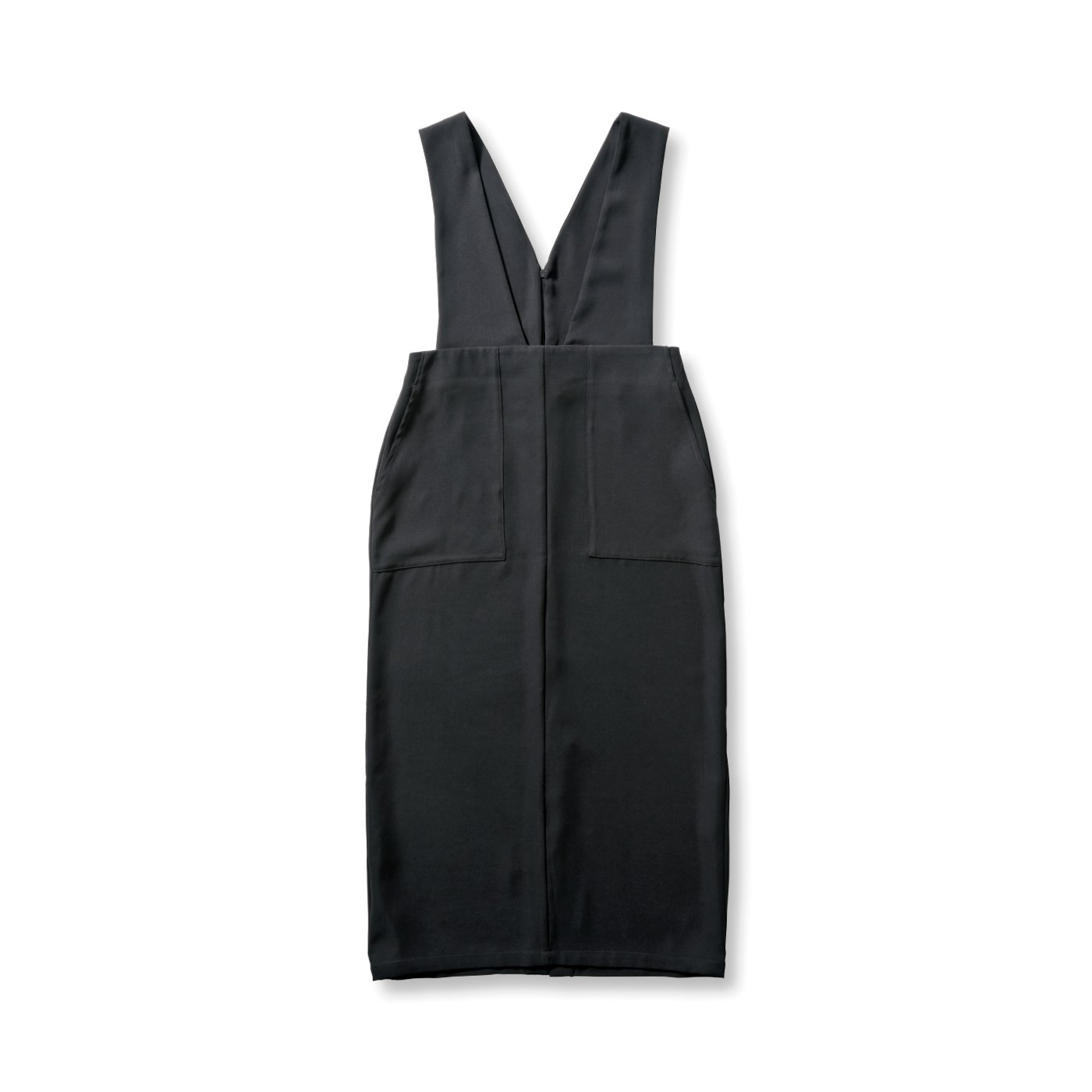 アヴェクモワ ペンシルジャンパースカート〈黒〉