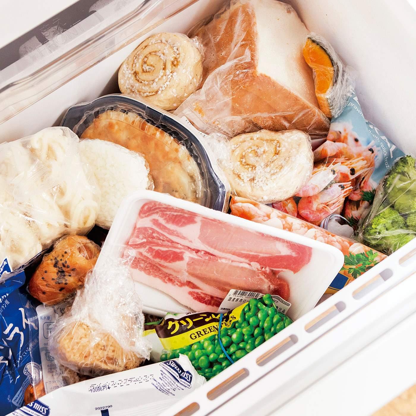 BEFORE 買い置き食材の使い残し、迷子続出!