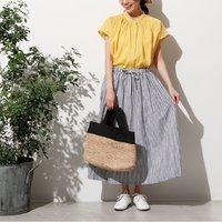 <フェリシモ>オーバークローズ ナチュカジ必須の 夏のお嬢さんスカート【送料:450円+税】