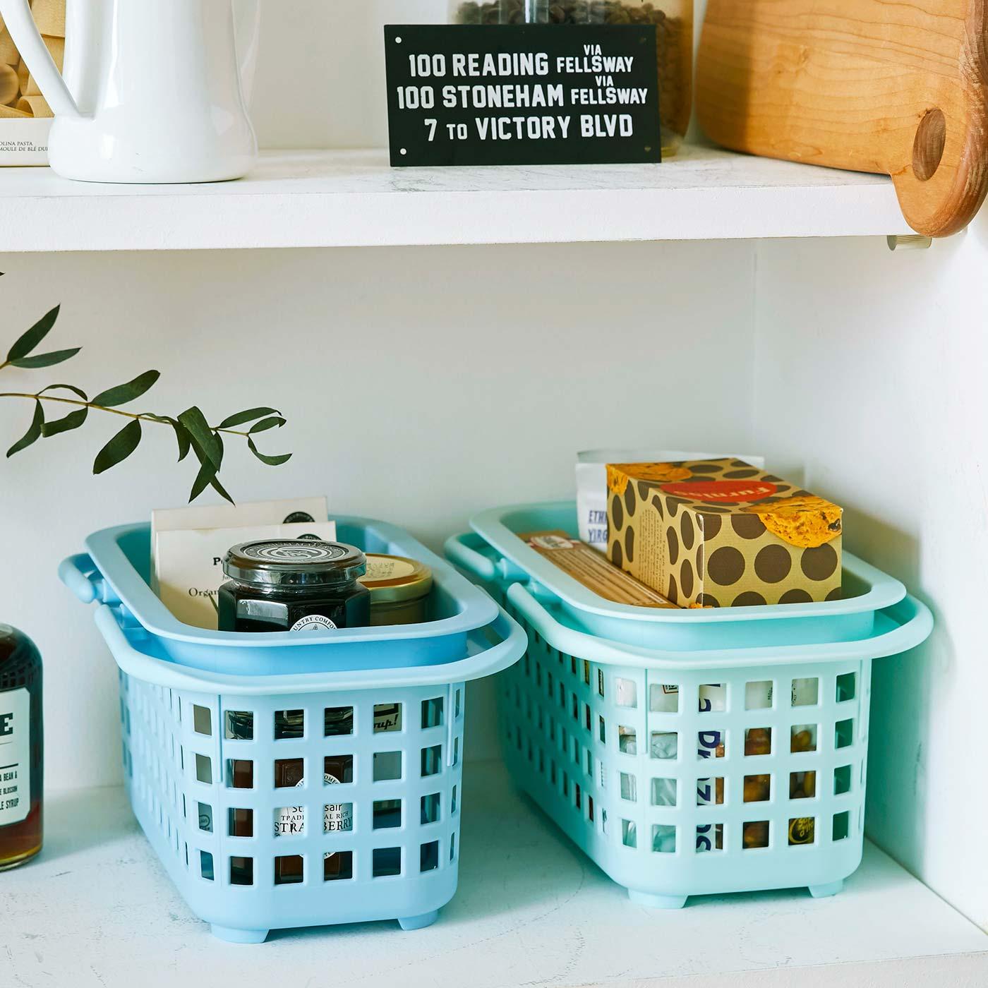 キッチンの食品のストックなどにもおすすめ。
