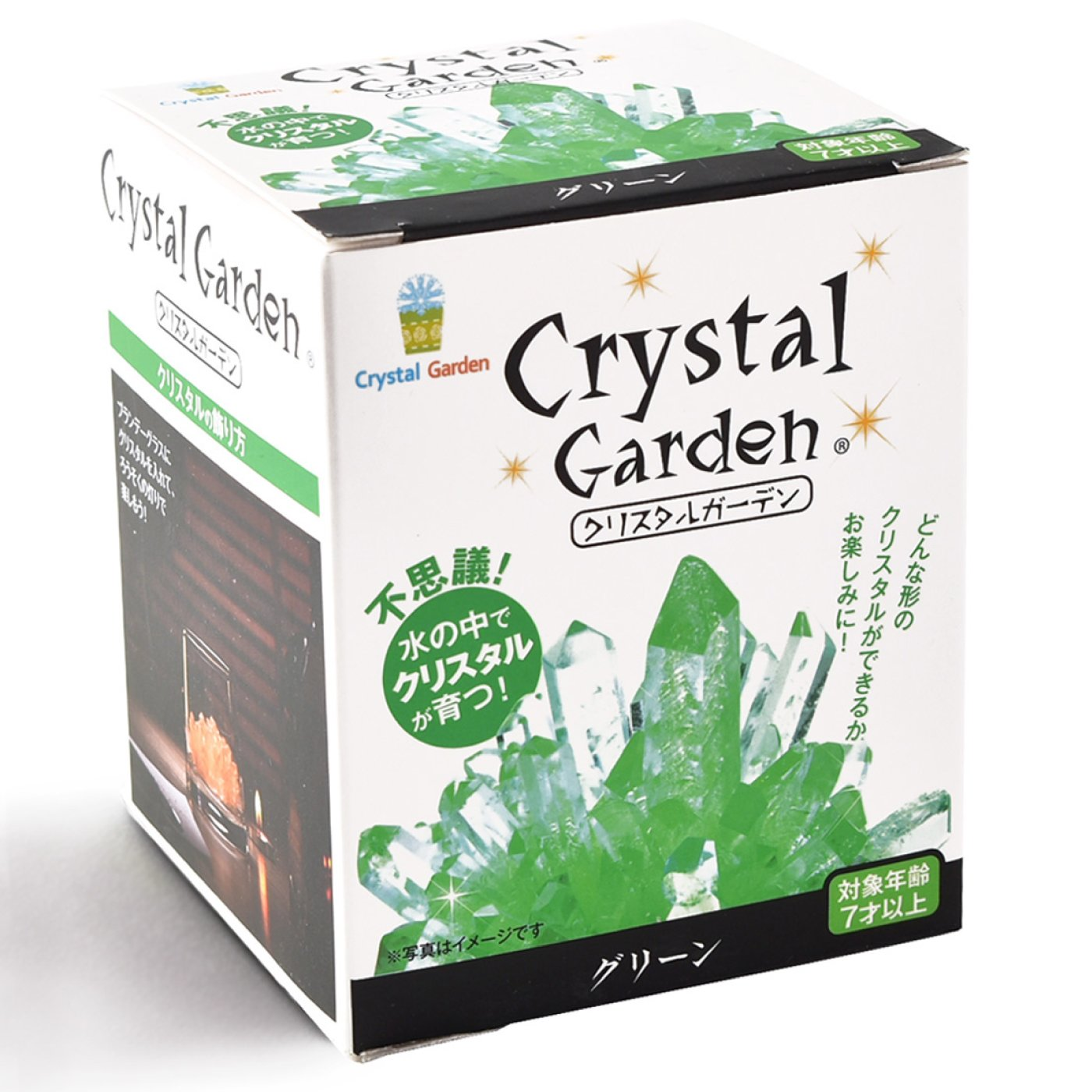 自分だけの結晶を育てよう 結晶育成キット〈グリーン〉