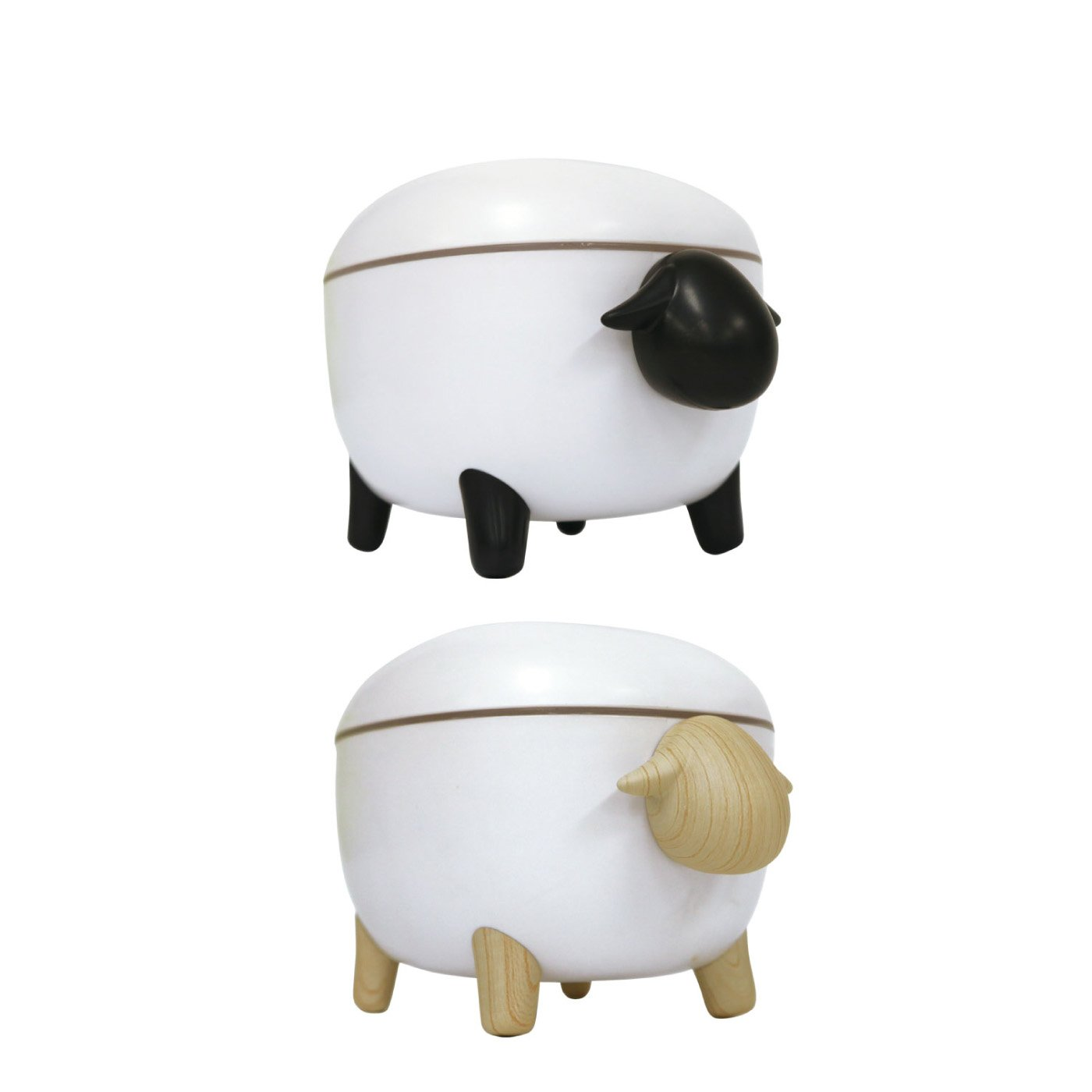 ゆる~い存在感がかわいい 超音波加湿器 SHEEP