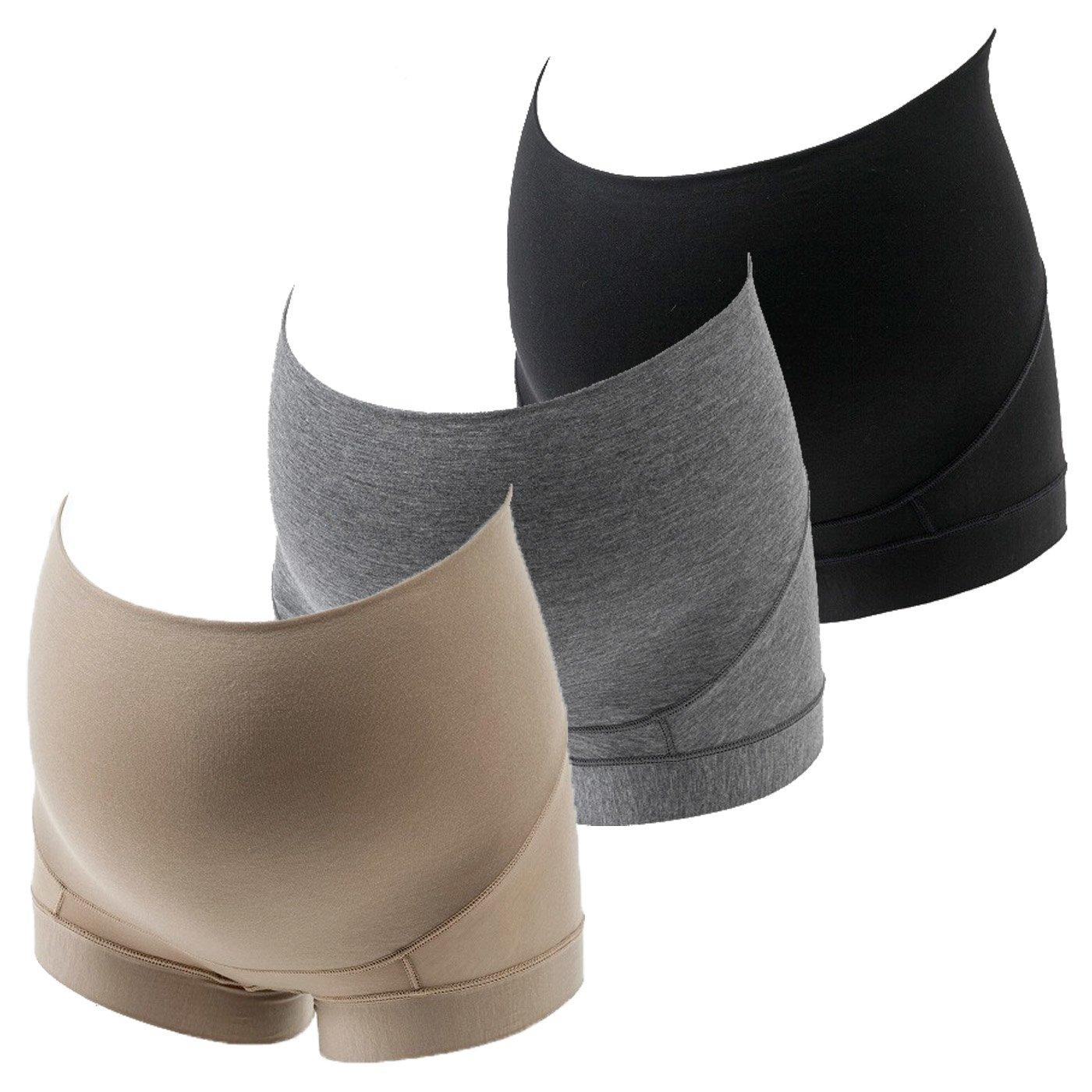 妊娠初期~産後まで長く履ける 超立体設計とのびやか素材でやさしくフィット マタニティショーツ