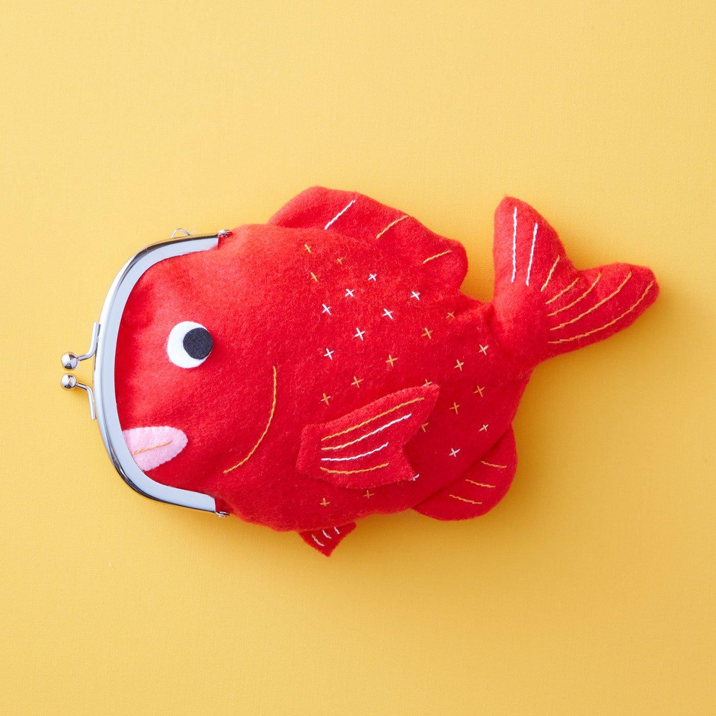真っ赤な鯛が福を呼ぶ!? めで「タイ」がまぐち