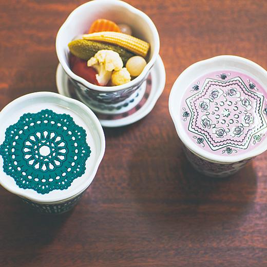 産地コラボ 九谷焼 ソーサーにもなるふた付きマルチカップの会