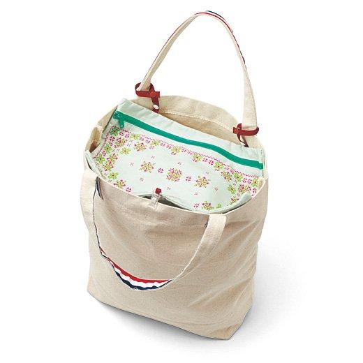 私のバッグバージョンアップ! クリップで簡単目隠し バッグカバーポケットの会