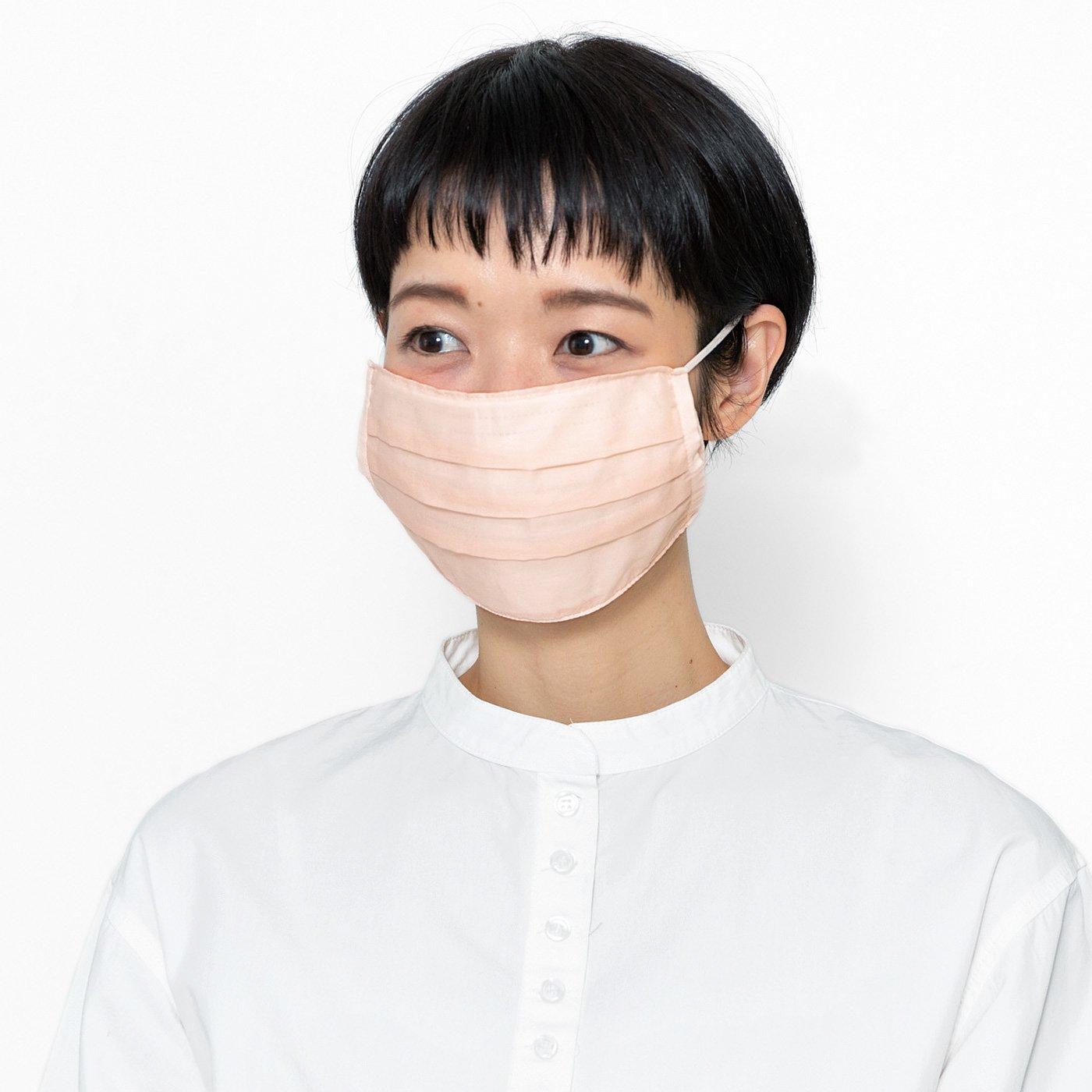 コットン素材で作った 肌当たりふんわり 使い捨てマスク用のマスクカバーの会