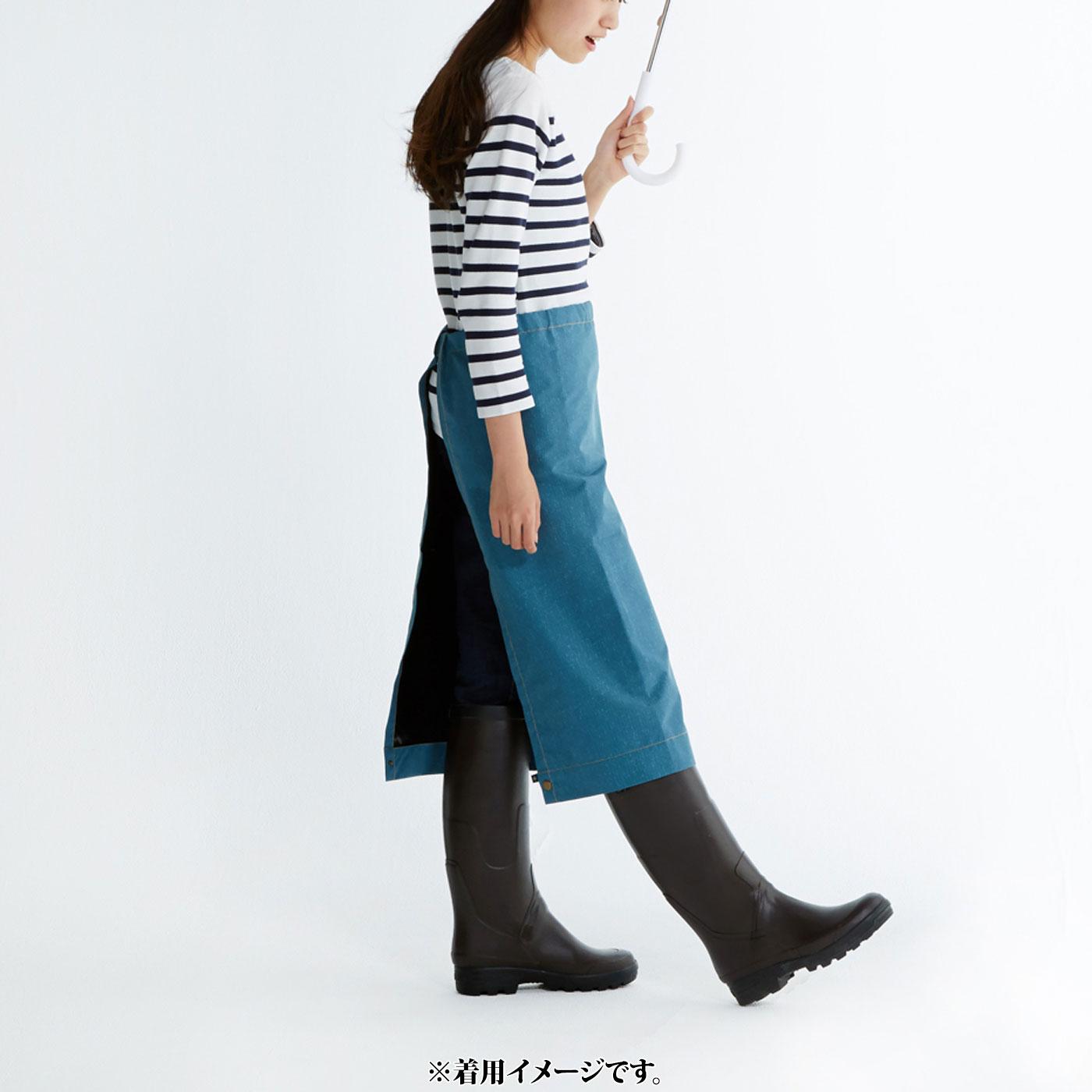これは参考画像です。無防備な下半身を、スカート風にしてカバー。