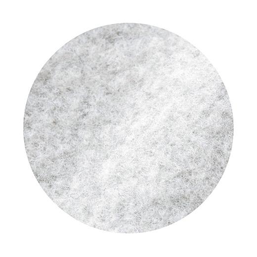 肌当たりのよい綿混素材を起毛させてます。