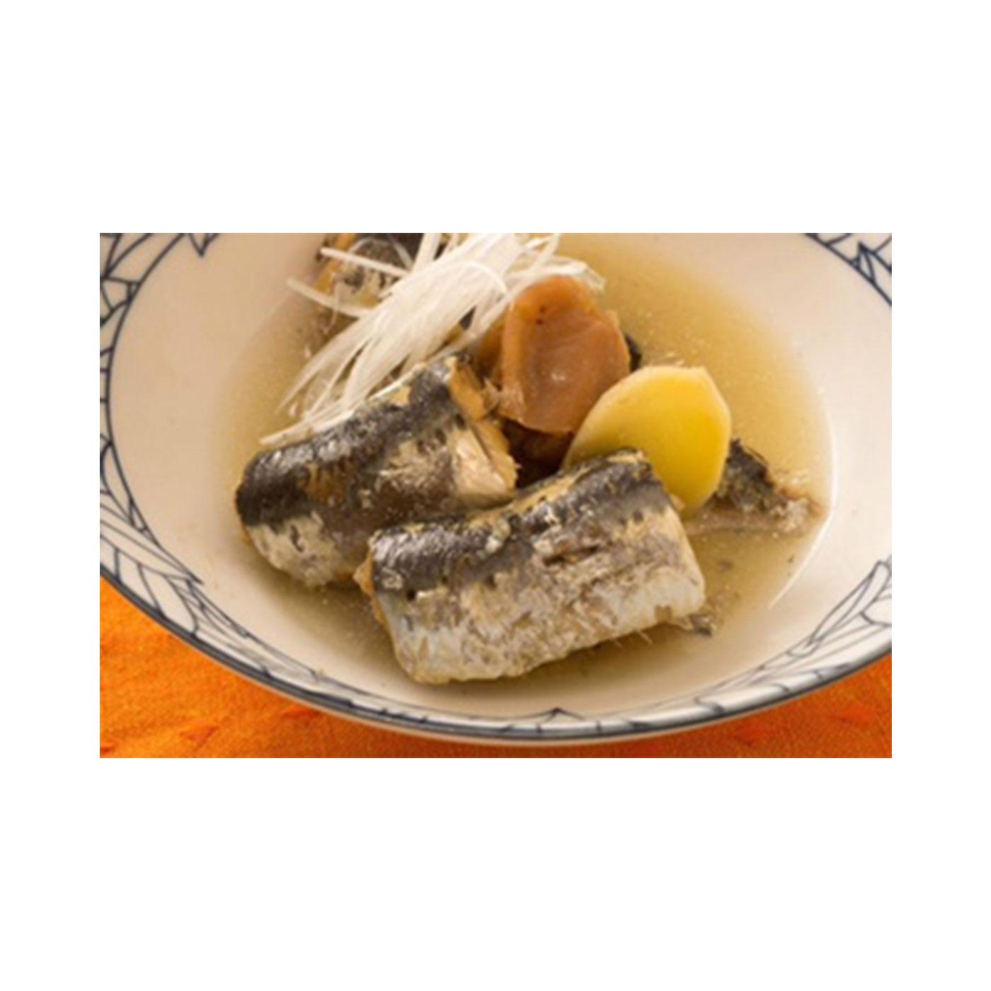 煮魚もワンタッチで出来上がり。※かんたんレシピブック付き