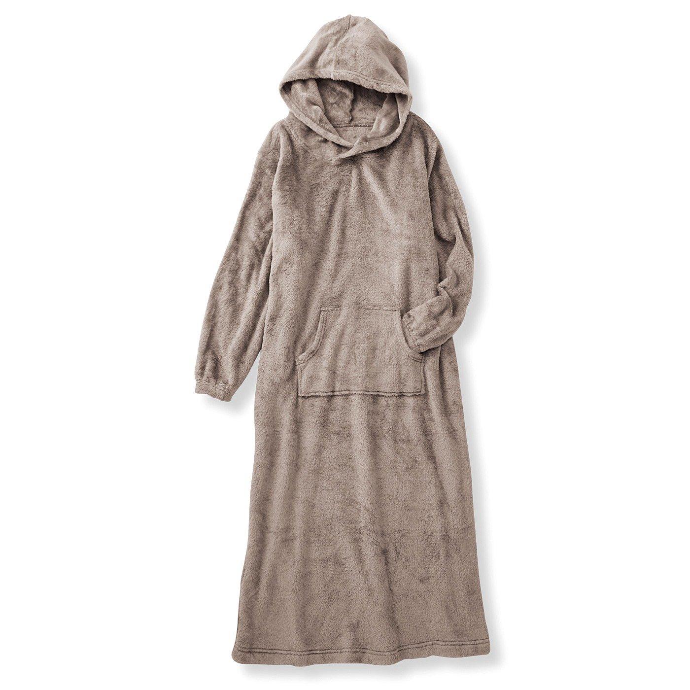 まるで毛布みたい もふもふに包まれるしあわせ ぬくぬくボアルームワンピースの会