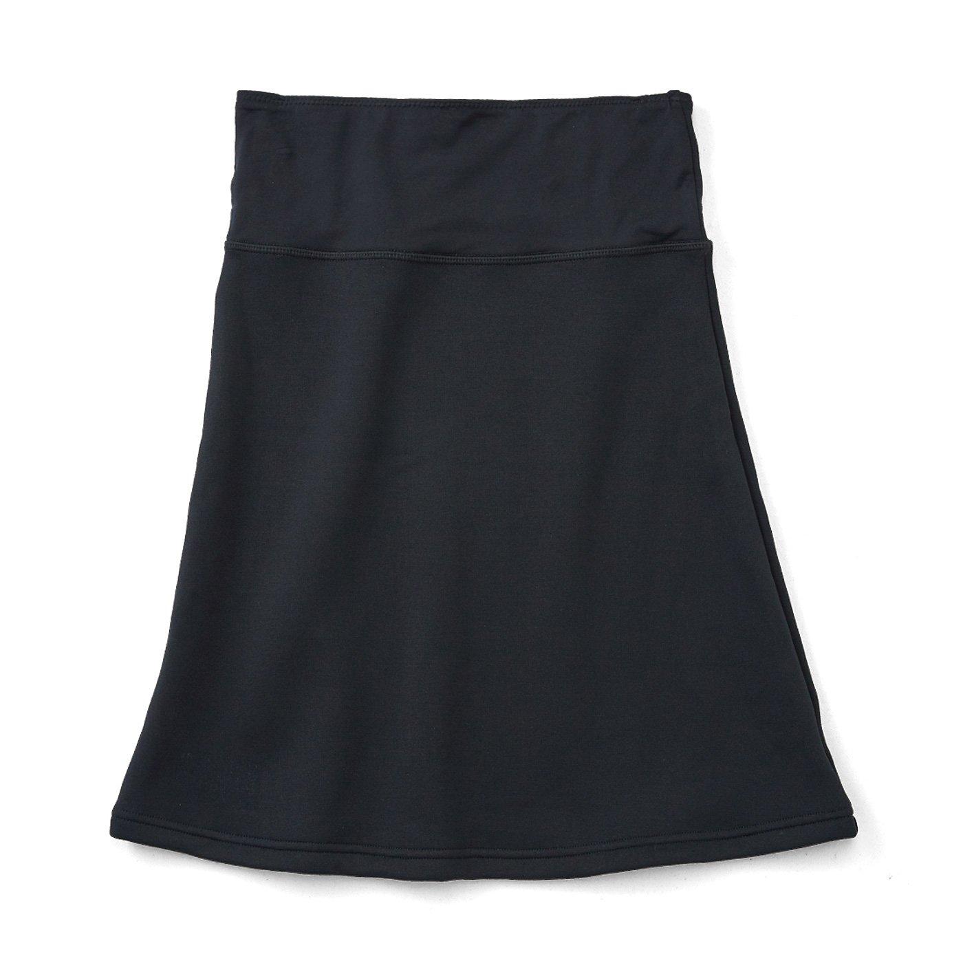 裏ボアに包まれるしあわせ ぬくぬくペチスカート〈ブラック〉の会