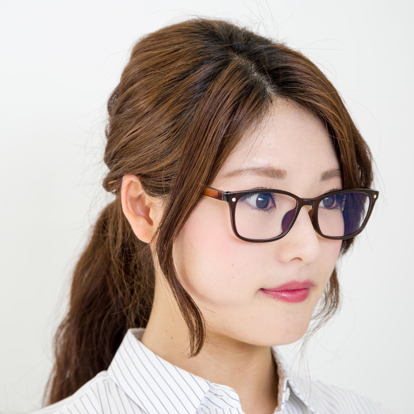 フェリシモ 毎日手軽にかけられる UVカット99% クリアサングラスの会【定期便】