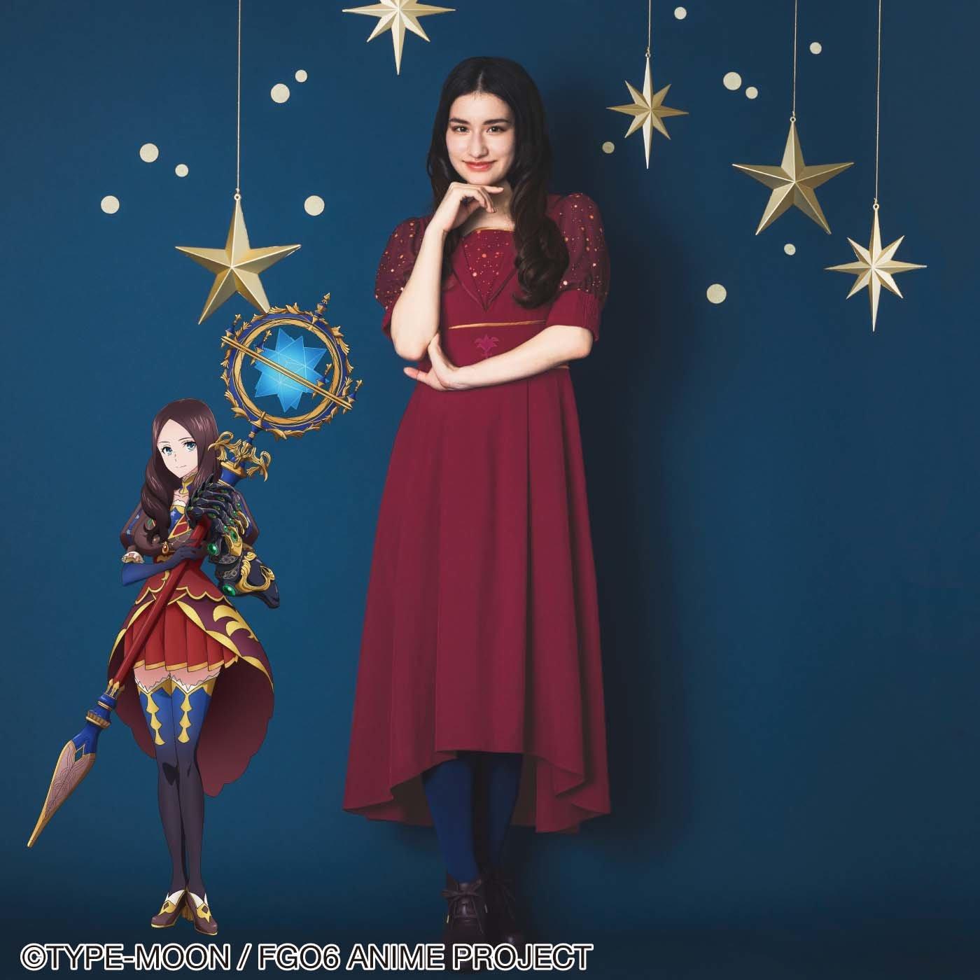 劇場版Fate/Grand Order-神聖円卓領域キャメロット- レオナルド・ダ・ヴィンチ イメージワンピース