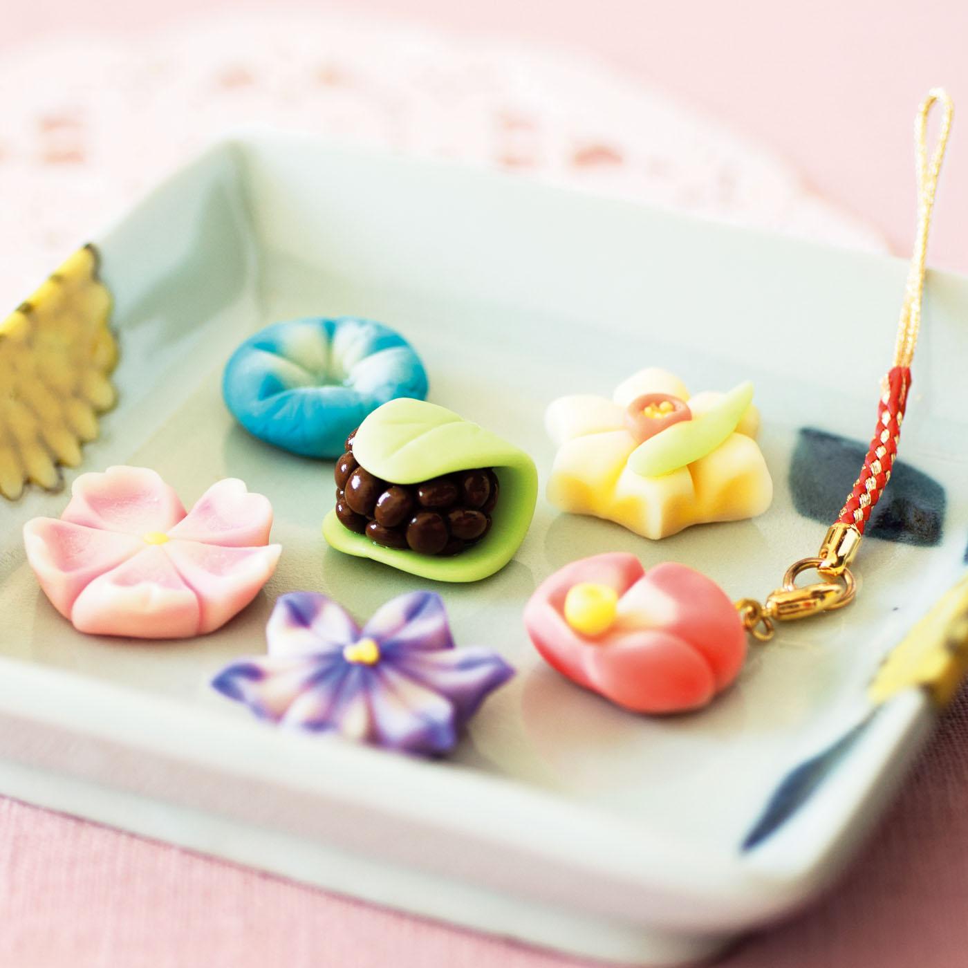 まるで本物の和菓子みたい!