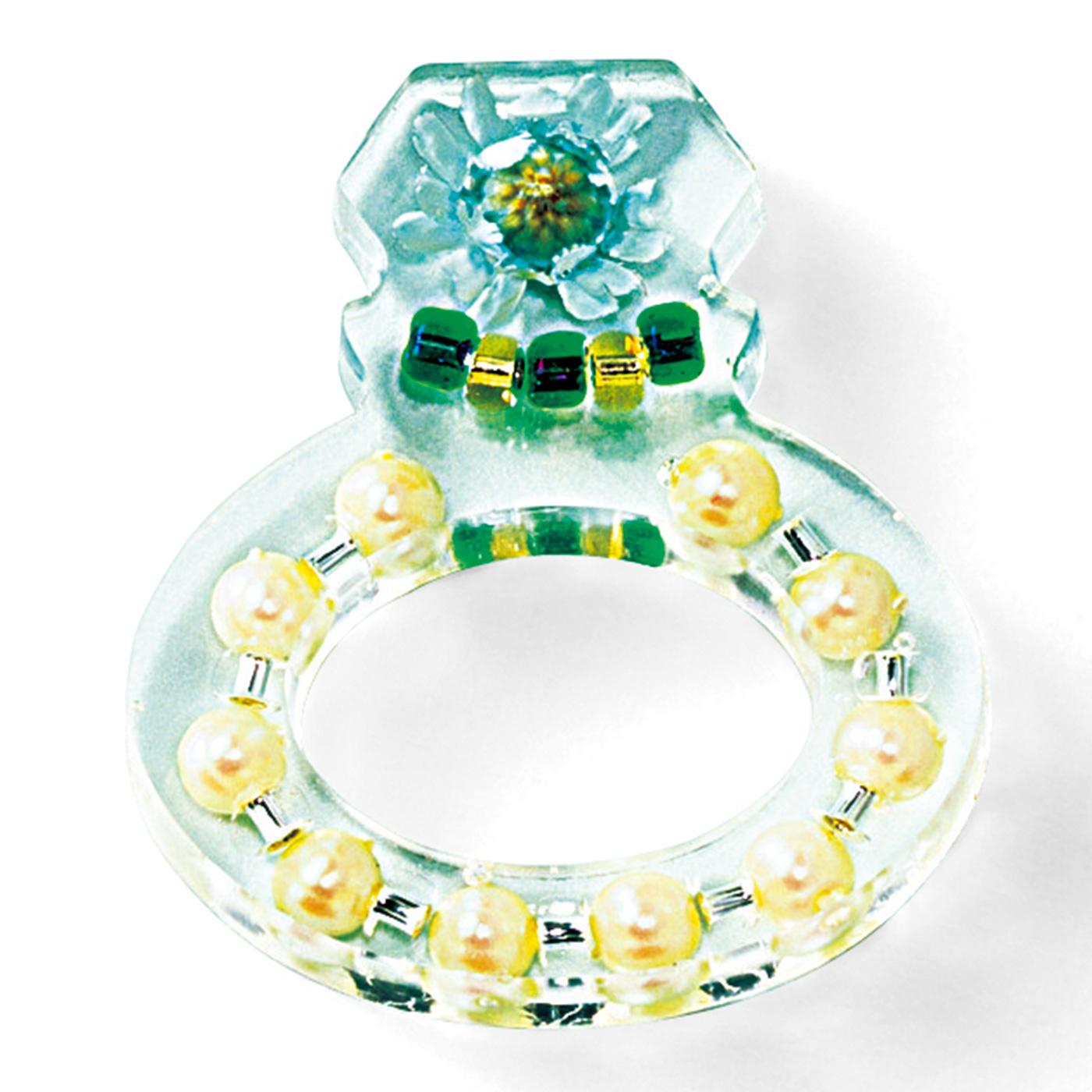 ダイアモンドリング〈固く強い愛〉