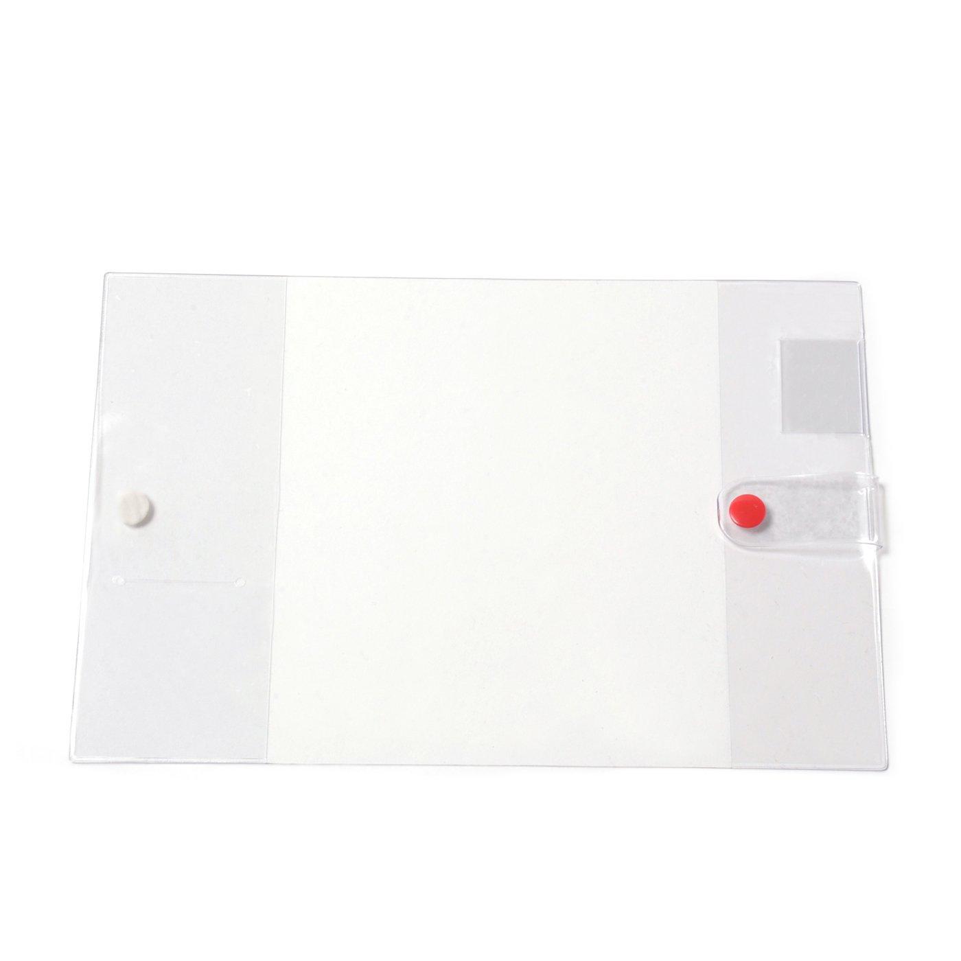 SF STUDIO 赤いボタンの透明カバー