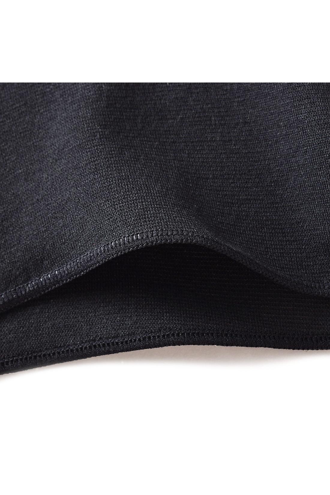 幅広のはらまきタイプで腰まわりからヒップまで暖かな着心地。