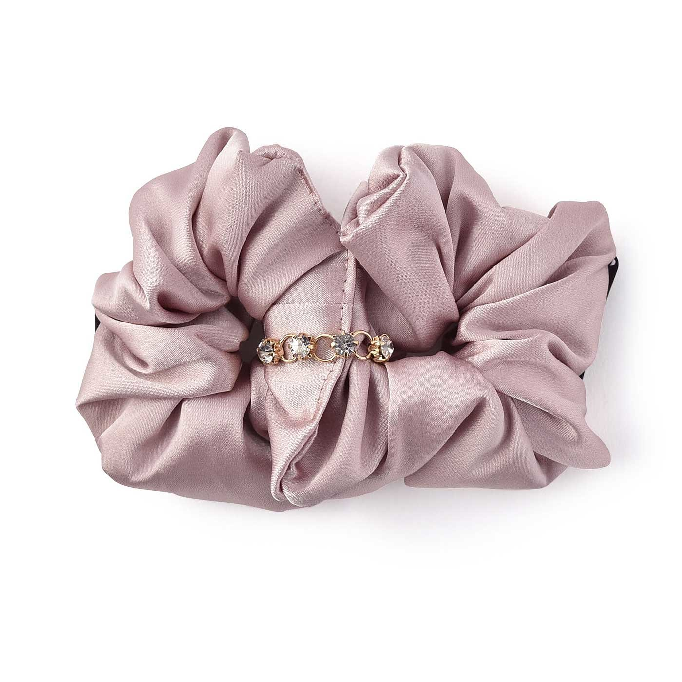 IEDIT カンタンアレンジで華やか 大人カラーをセレクトした バレッシュ(R)〈ピンク〉