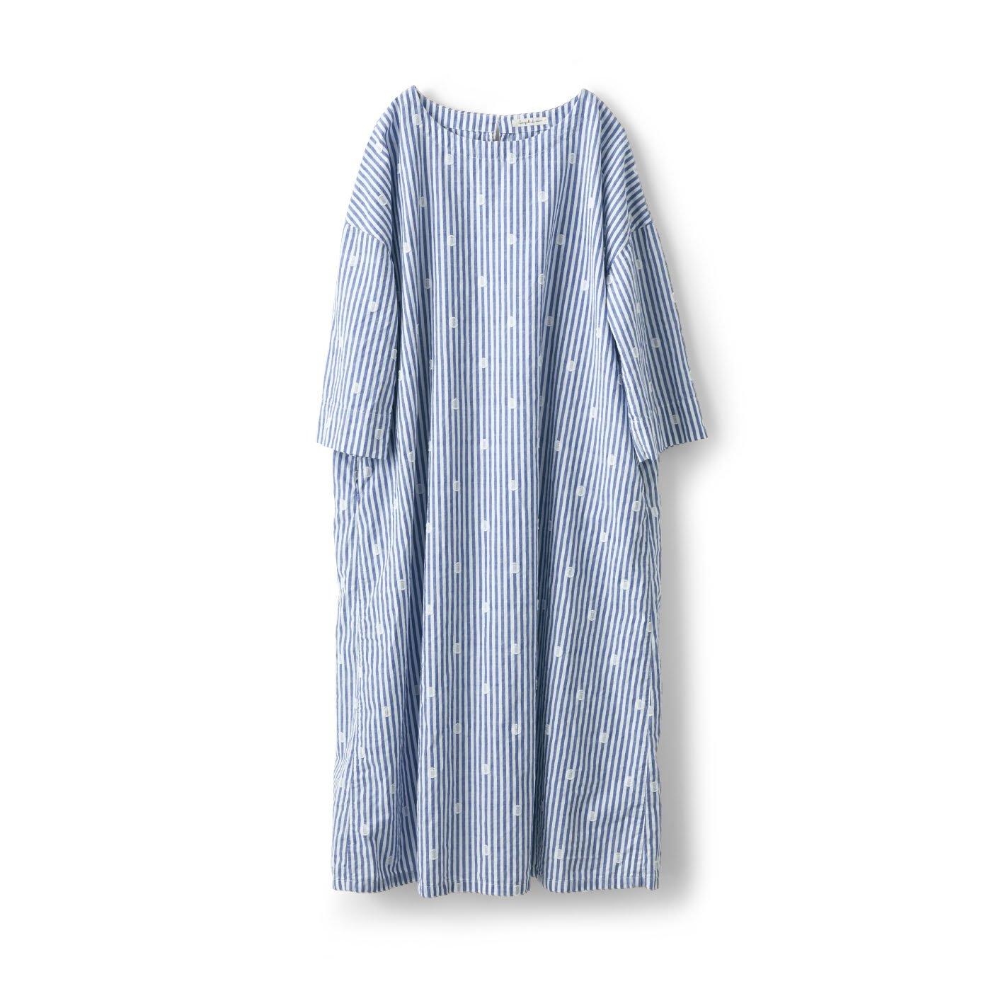 サニークラウズ 水玉泡玉サックドレス〈レディース〉
