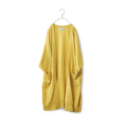 RoomClip商品情報 - ロングロングカーディガン〈レディース〉黄色 サニークラウズ フェリシモ FELISSIMO