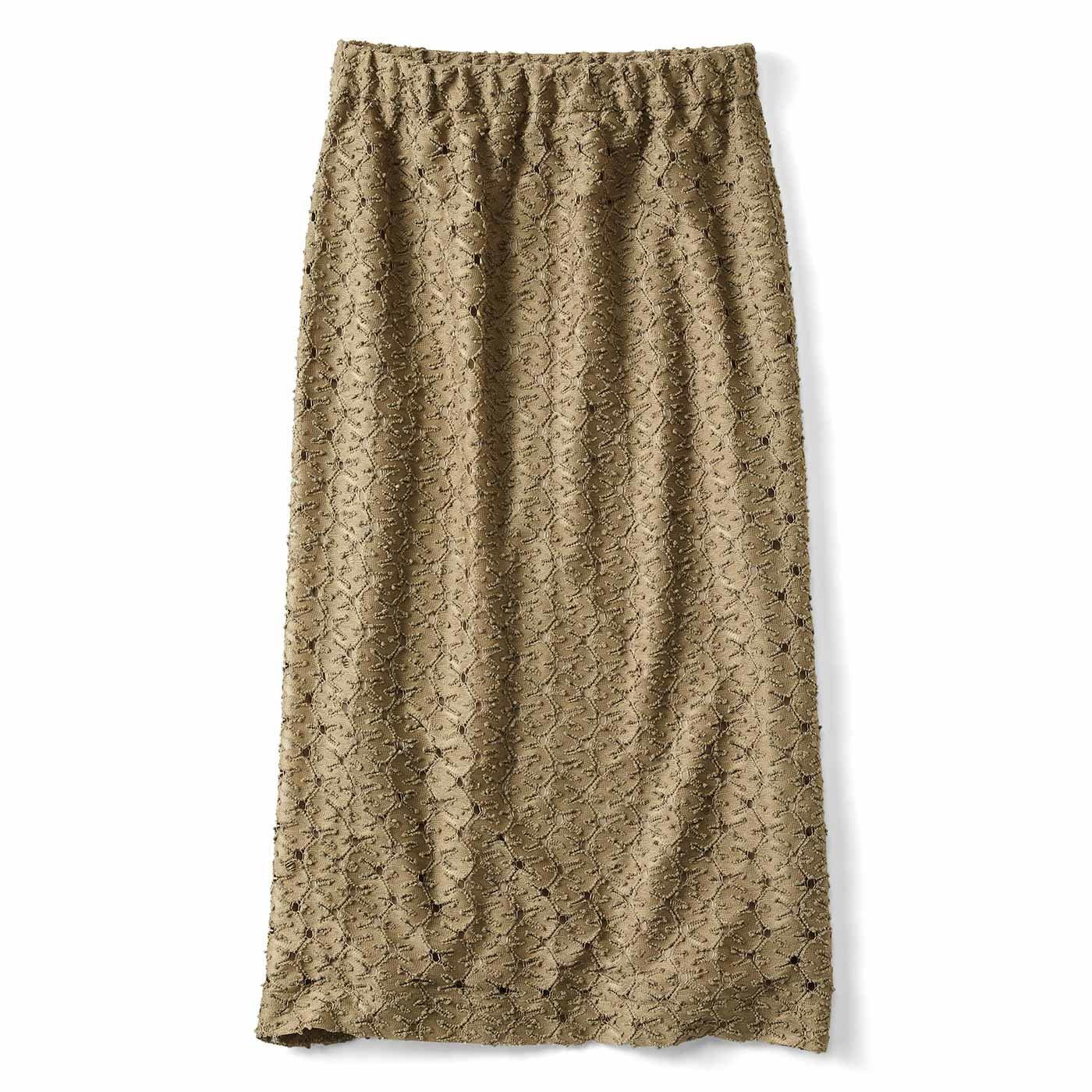 つぶつぶレースのオトナめタイトスカート