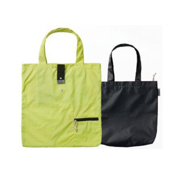 メインバッグとサブバッグをコンパクトに持てるポータブルツインバッグ