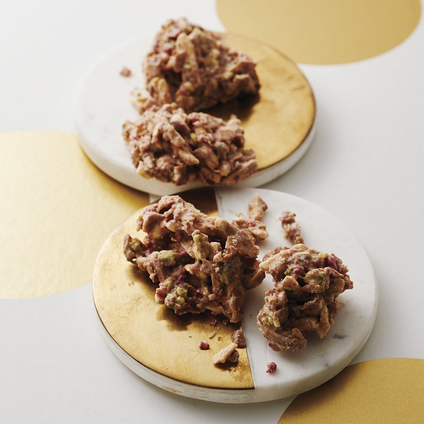 【ホワイトデイお届け】クリスティーナシスコチョコレート アーモンドクラスター