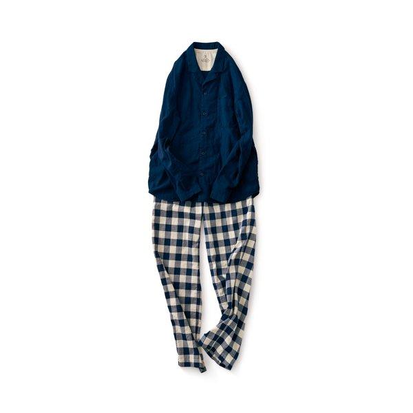 サニークラウズ やっぱり二重織りパジャマ〈メンズ〉