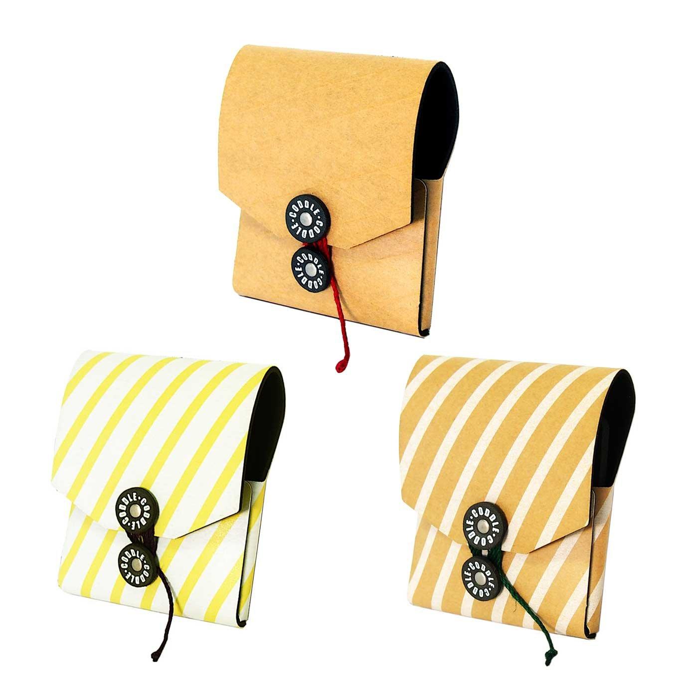 CODDLE+PAPER クラッシックな封筒風のアクセサリーケース