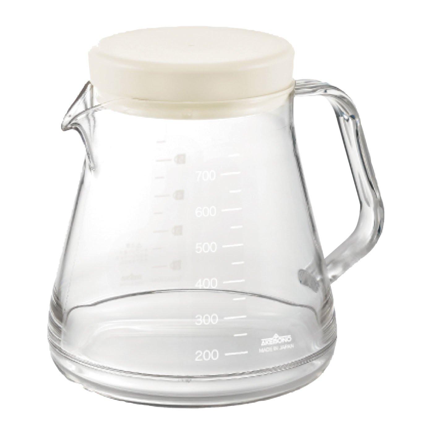プラなのに見た目はガラス コーヒーサーバーストロン