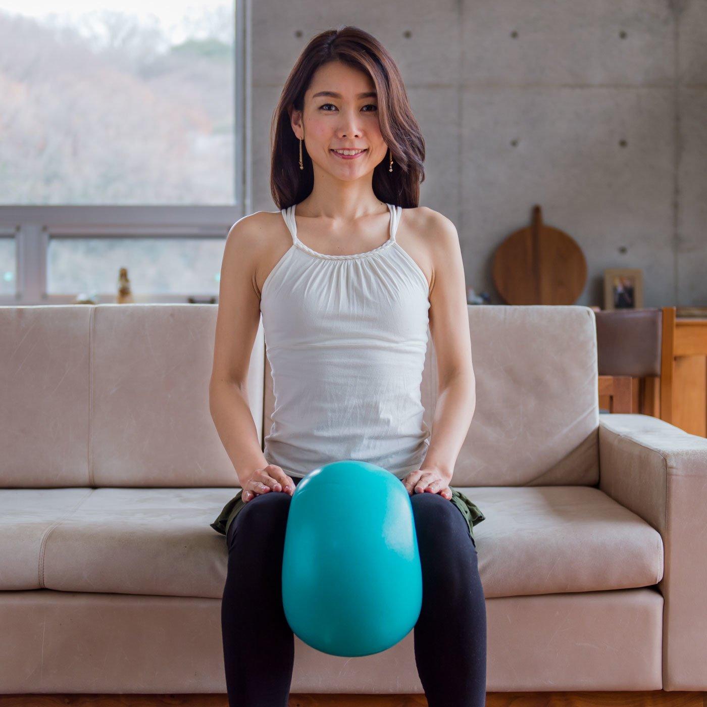 いすの上で使えるバランスボール スッキリコアボール