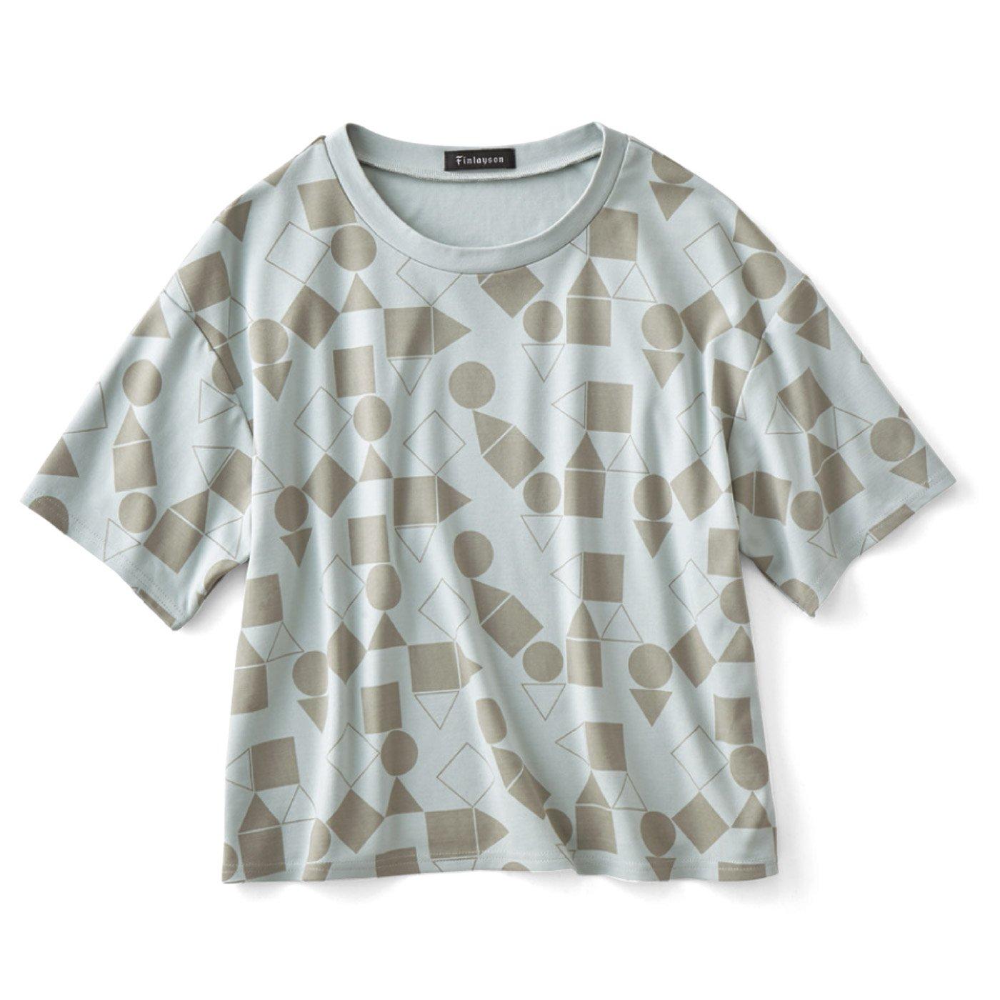 フィンレイソン ボーイッシュシルエットのプリントTシャツ〈パレッティ〉