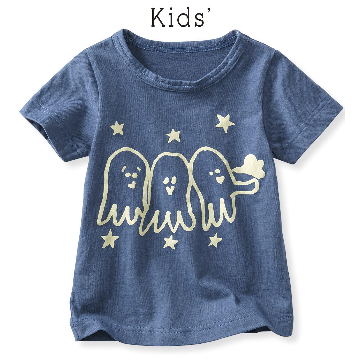 フェリシモ なんともゆるユニークTシャツ〈キッズ〉(たこ)