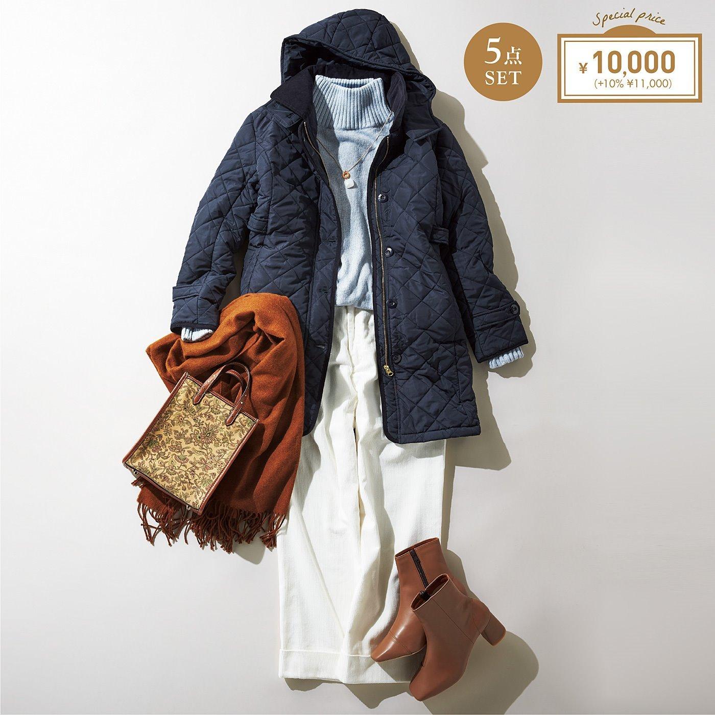 IEDIT[イディット] きれいめあったかコート&冬の洗練ファッション福袋