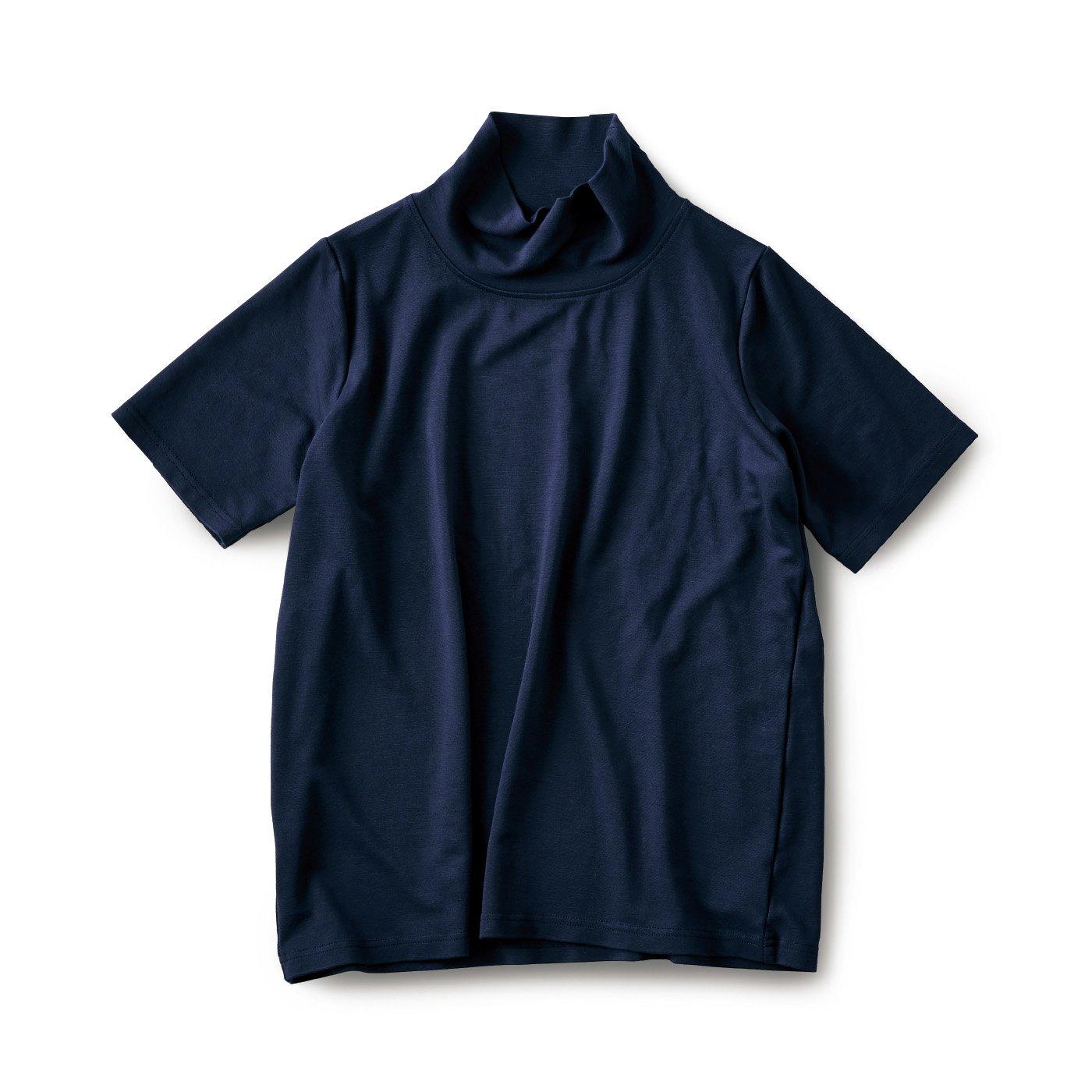 and myera オフタートルTシャツ