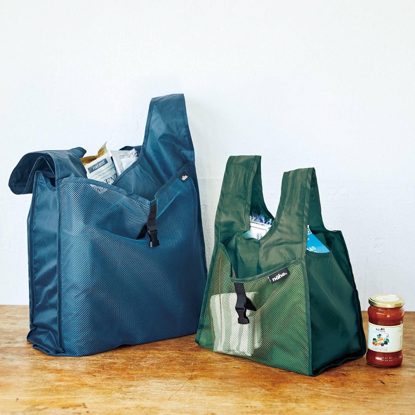 たっぷりのお買い物も 少量のお買い物にも カスタムに対応! まち付き親子エコバッグの会