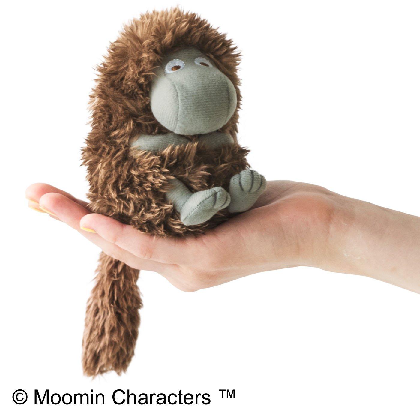 【3~10日でお届け】MOOMIN 手のひらサイズ 暗がりのご先祖さまぬいぐるみ