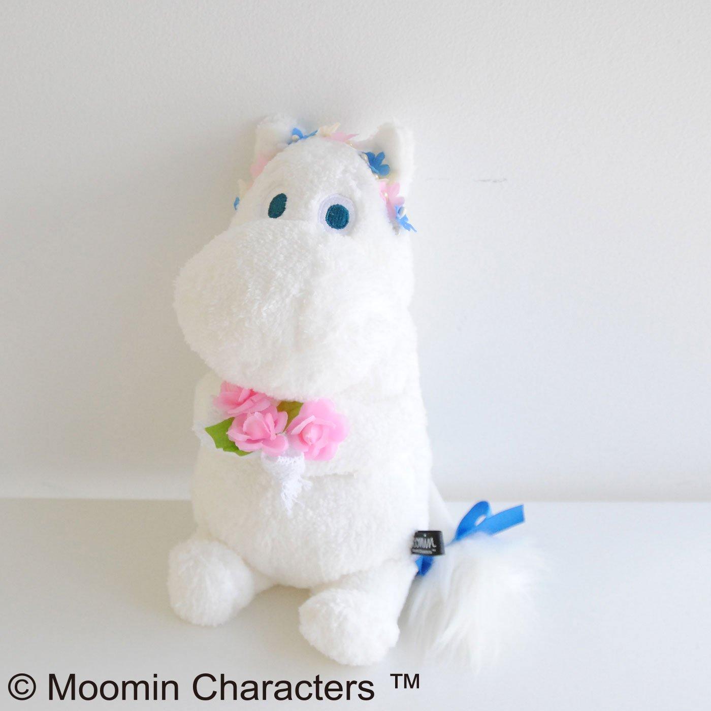 【3~10日でお届け】MOOMIN とっておきのぬいぐるみ〈ほあほあムーミンガーデン〉