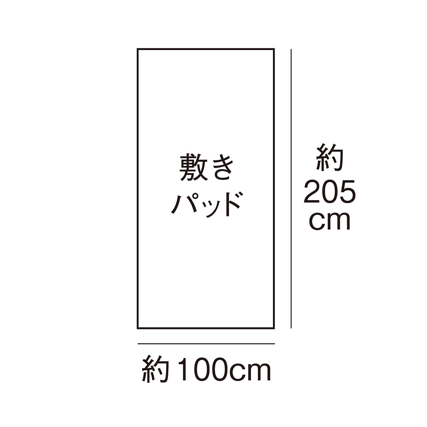 シングルサイズ対応