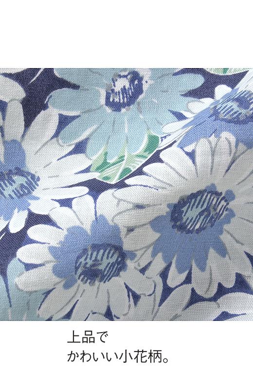 着こなし2倍! 小花柄のよくばり2-WAYオールインワン(3)