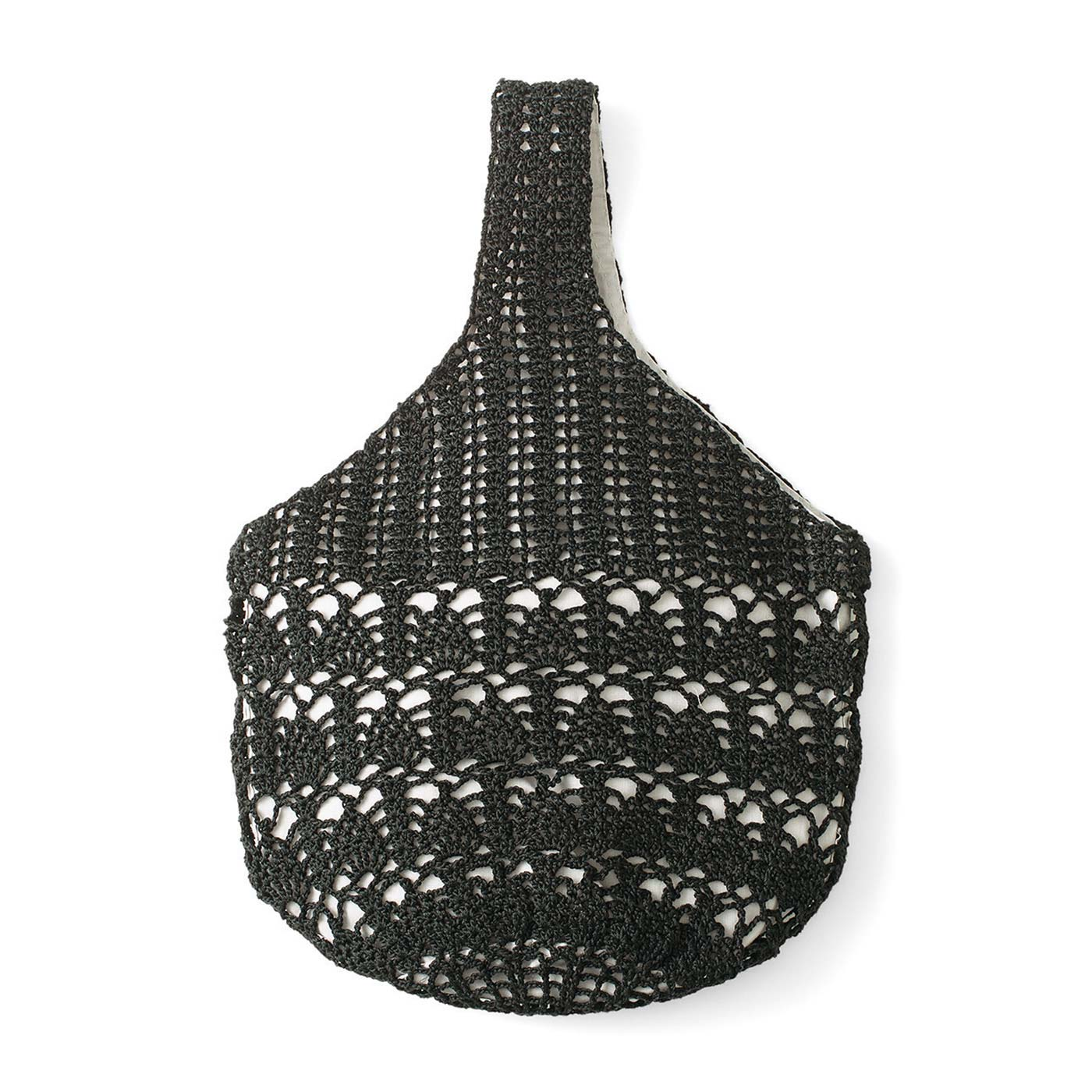 タイプ5:ブラックのパインコーンズ 縦約34cm、横約26cm、底直径12cm(持ち手含む)