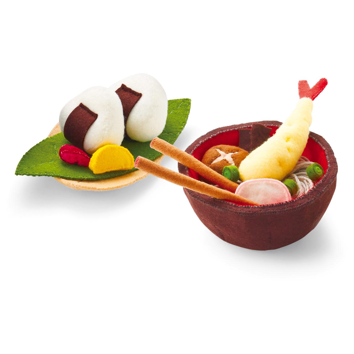 タイプ2:天ぷらそばとおにぎりセット