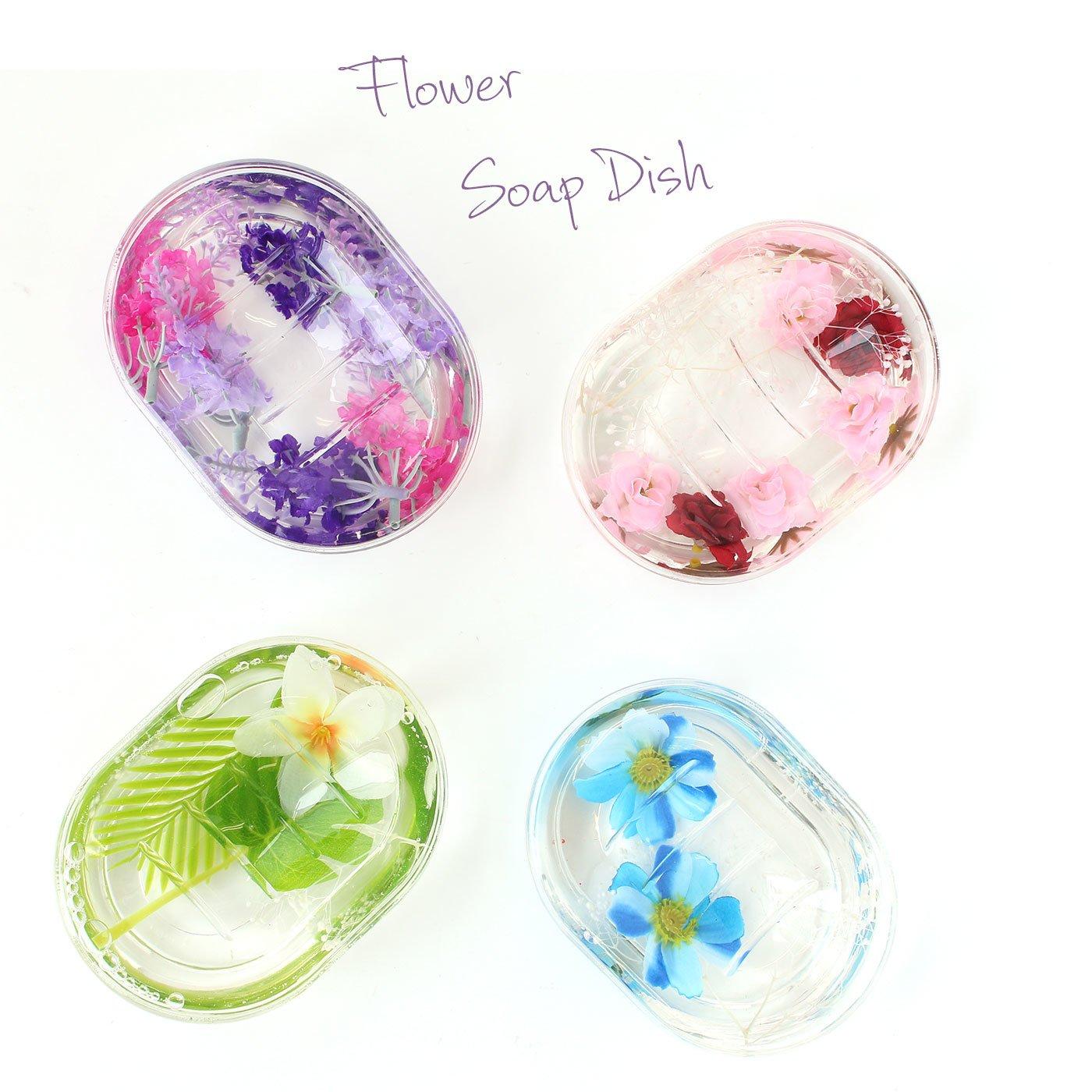 フラワーアクアリウム 洗面台をさわやかに彩るソープディッシュ
