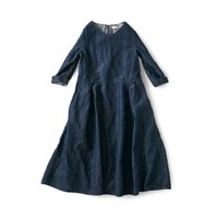 フェリシモ and myera デニムのドレス